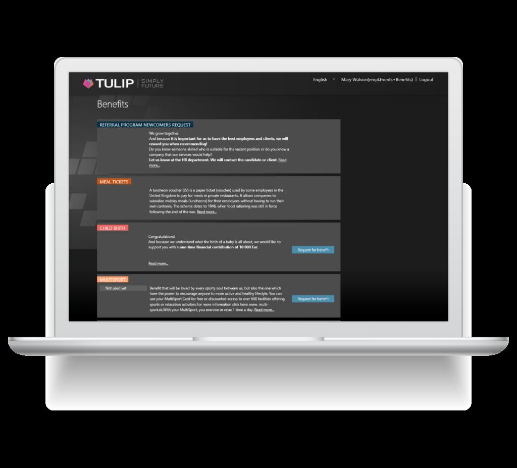 TULIP Benefit module